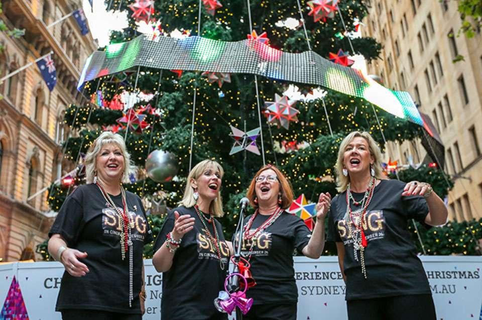 Choirs in the City Pitt Street Mall