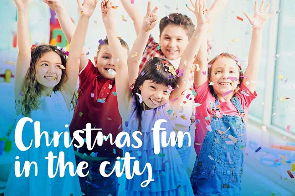 Christmas fun in the city