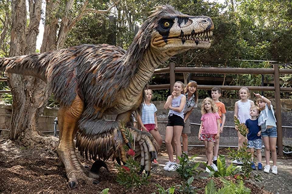 Taronga Zoo dinosaurs