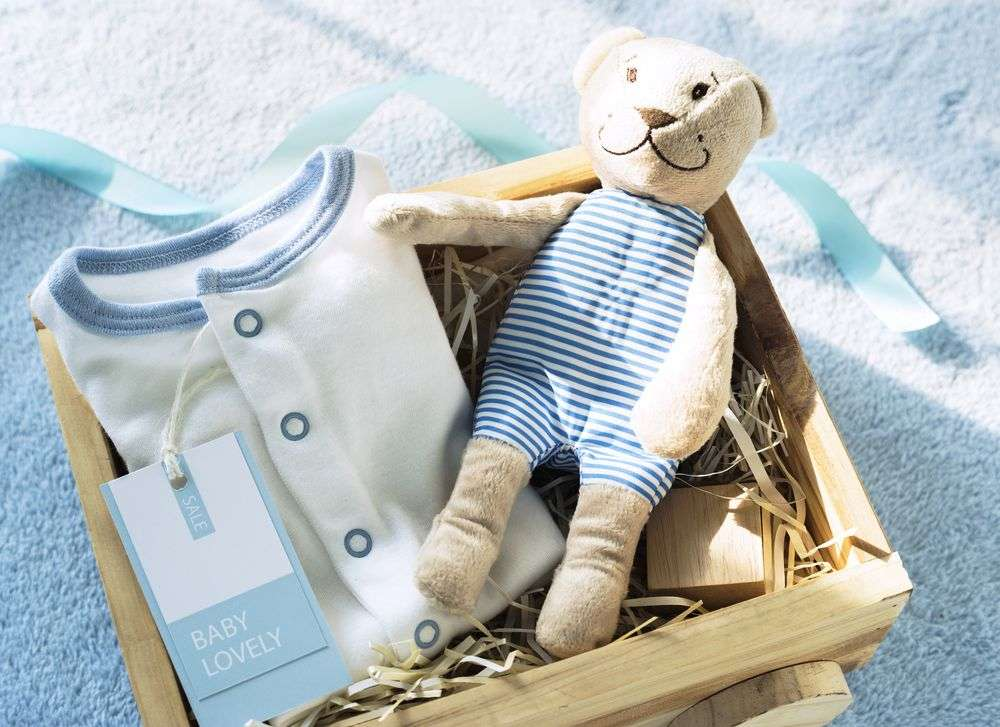 Send some gifts for the baby